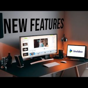 InVideo- new feature releases: Adding team members, brand logos, stickers and more.